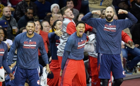 NBA: Atlanta Hawks at Cleveland Cavaliers